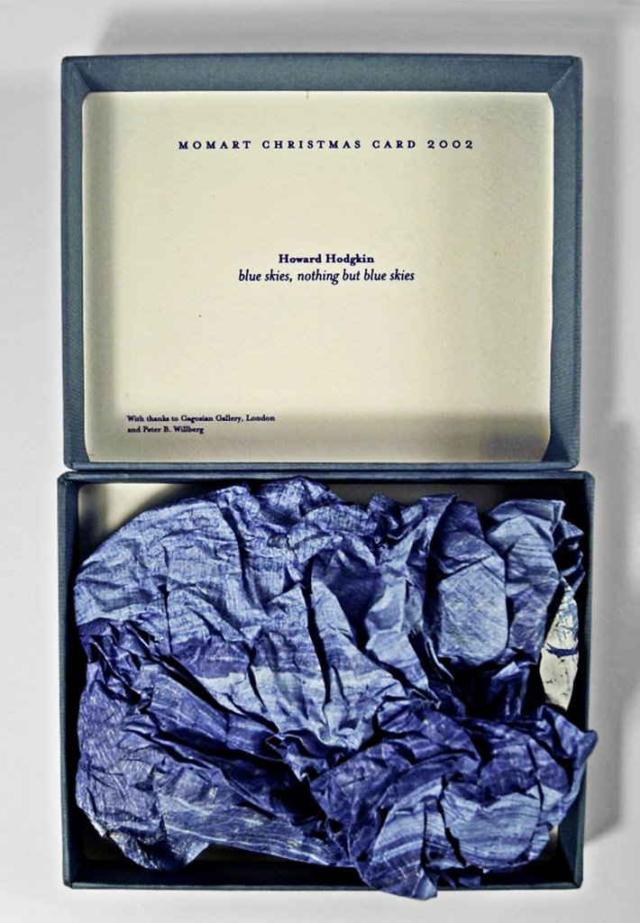 Howard Hodgkin Blue Skies Nothing But Blue Skies 2002 Available For Sale Artsy