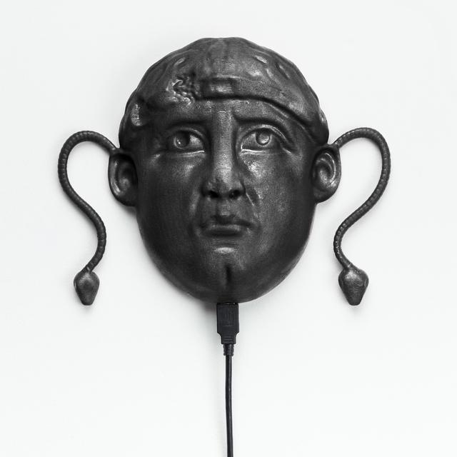 , 'South Ivan Human Heads: Medusa Head (Black),' 2018, Upfor