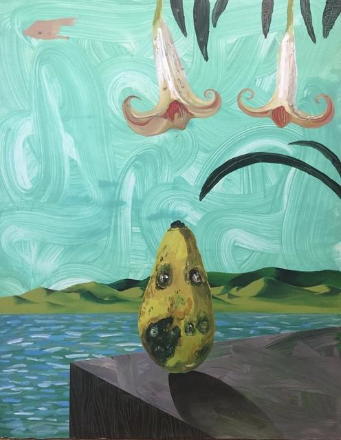 , 'Untitled (Sad Papaya Blues),' 2017, ROBERTO PARADISE