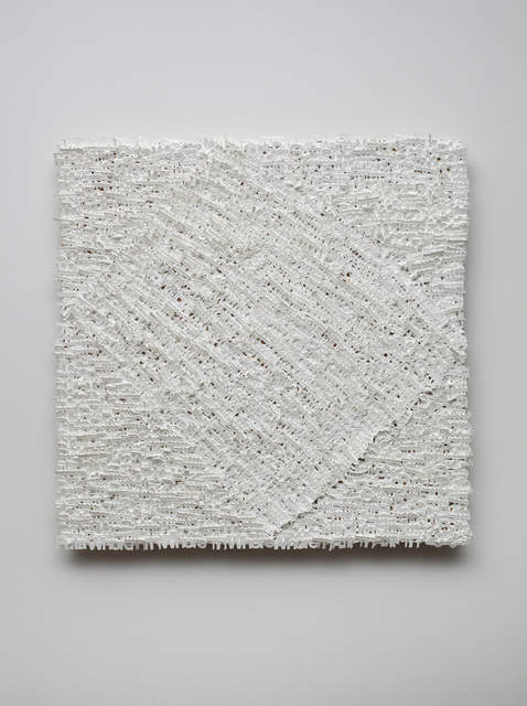 , 'White, No. 3,' 2010, bitforms gallery