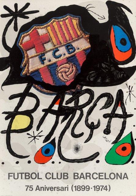 Joan Miró, 'Futbol Club Barcelona', 1974, Heritage Auctions