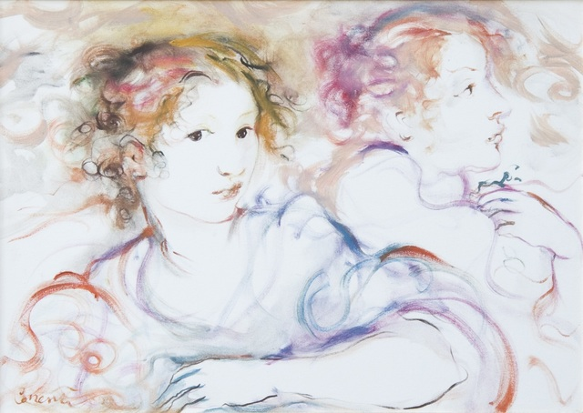 , 'Le amiche / Friends,' 1999, Galleria Edarcom Europa
