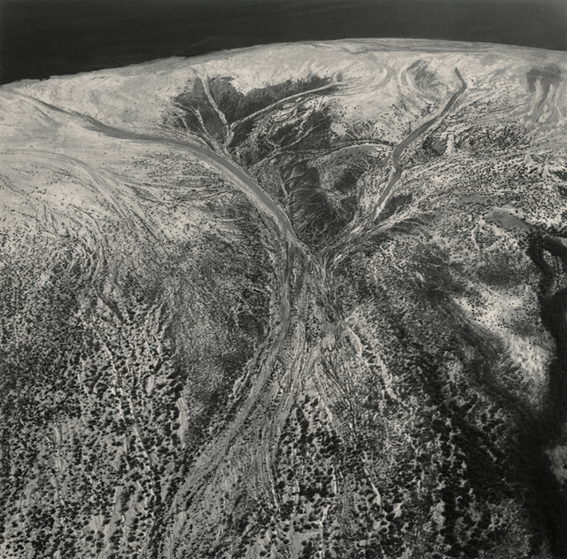 Emmet Gowin, 'The Edge of the Salton Sea, California', 1990, Marc Selwyn Fine Art