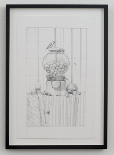 , 'The Gumball Incident (Drawing),' 2015, Joshua Liner Gallery