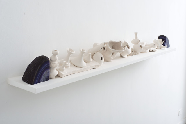 , 'Unglazed Shelf,' 2014, The Gallery Apart