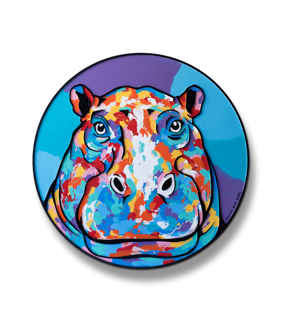 , 'The hippo was now the centre of everyone's attention ,' 2018, Gillie and Marc Art Gallery