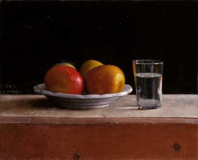 Aram Gershuni, 'Mangoes with Glass', 2015, Zemack Contemporary Art