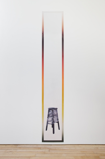 , 'Printed Frame with Stool,' , Rachel Uffner Gallery