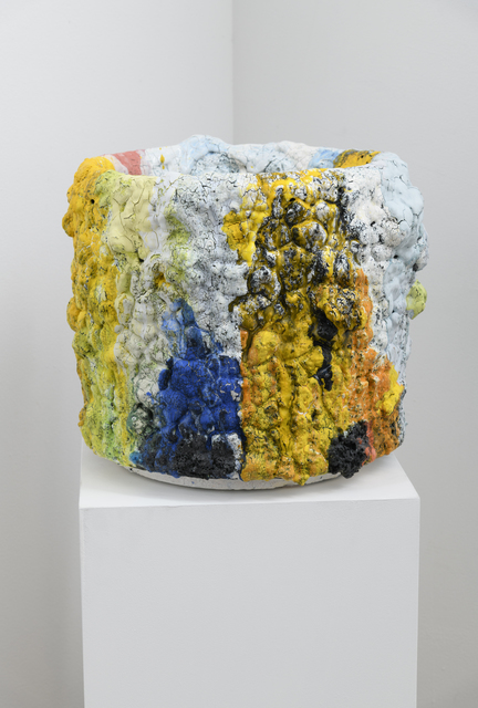 , 'Crucible Series (polychrome), 14 x 17 x 17 inches (approx.),' 2018, Richard Heller Gallery