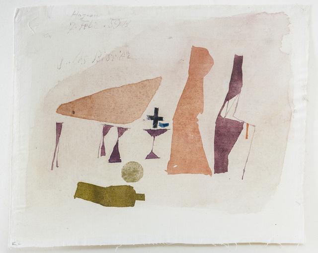 , 'Hagnau, 7. febr. 59 B,' 1959, Galerie Schlichtenmaier