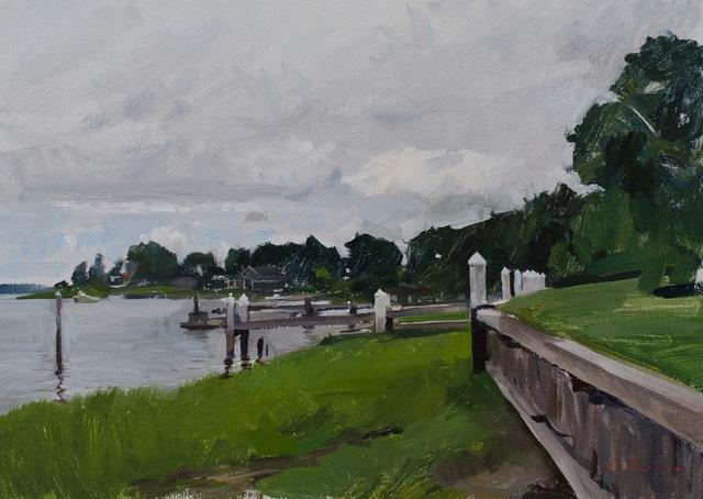 , 'Rick's Dock,' 2015, Grenning Gallery