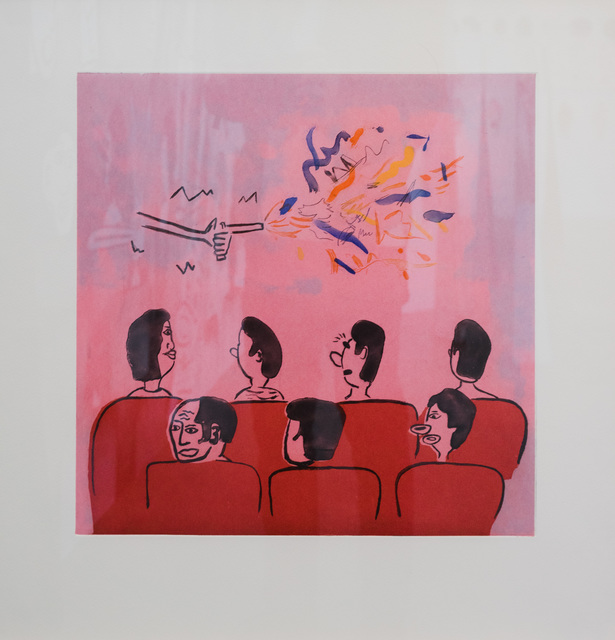 , 'At the movies,' 2015, Gallery 16