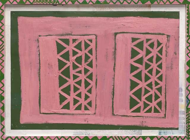 Tal R, 'Double Gate ', 2015, Galleri Bo Bjerggaard