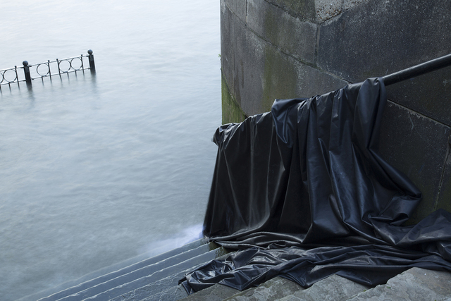 , 'Canvas in Thames, from the series 'Investigating Space/Occupying Place III' ,' 2016, Alfa Gallery