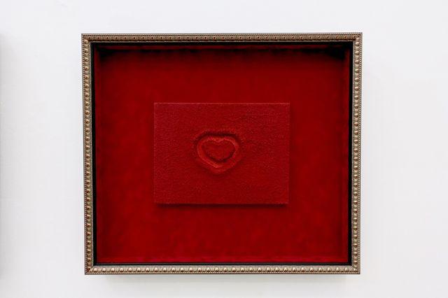""", '""""ENLIVENING RED VELVET HEART"""",' 2017, ABXY"""
