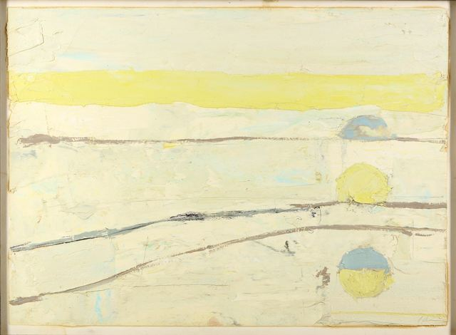 Paul Wadsworth, 'Sunset', Painting, Oil on paper, Chiswick Auctions