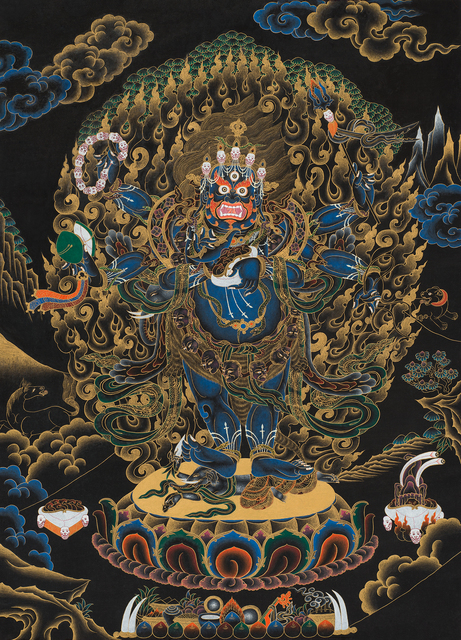, 'Six-armed Mahakala,' 1997, October Gallery