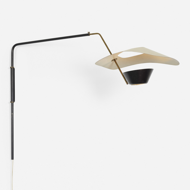 Disderot, 'Cerf Volant adjustable wall light', c. 1983, Wright