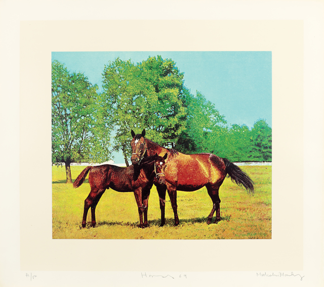 , 'Horses,' 1969, Bernard Jacobson Gallery