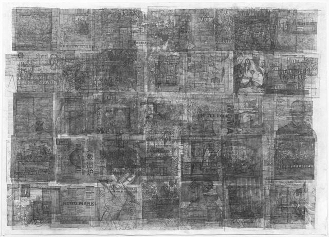 , 'Palimpsest,' 2016, Galeria Plan B