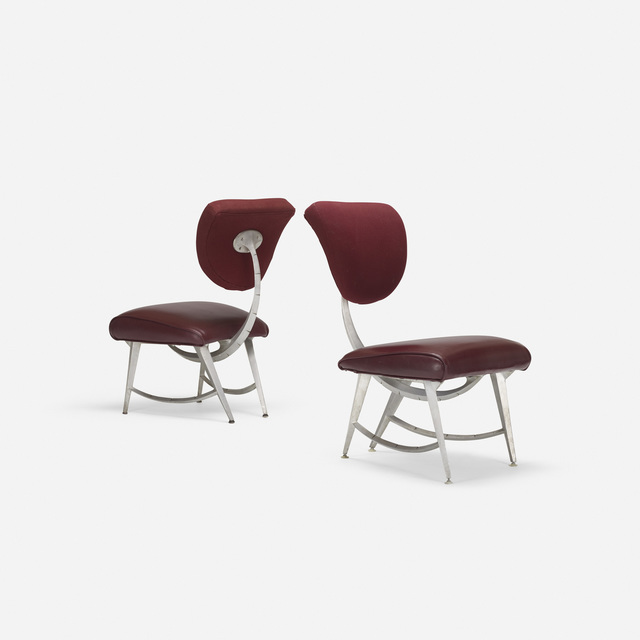 Jordan Mozer, 'DisneyQuest Armillary chairs, pair', 1995-96, Wright