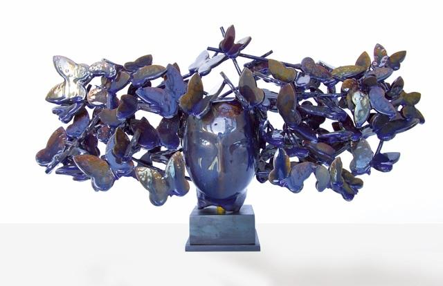 , 'Mariposas Azules I,' 2017, Opera Gallery