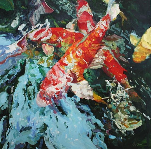 , 'Surging Koi,' 2016, Beth Urdang Gallery