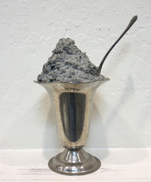 , 'Untitled (Concrete Sundae in Metal Dish),' , Anglim Gilbert Gallery