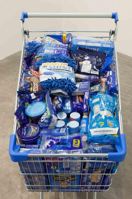 ", '""Monochrome Grocery Cart"",' 2017, SGR Galería"