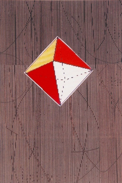 Five Geometric Solids #3 Digital print on paper 19 x 13 inches
