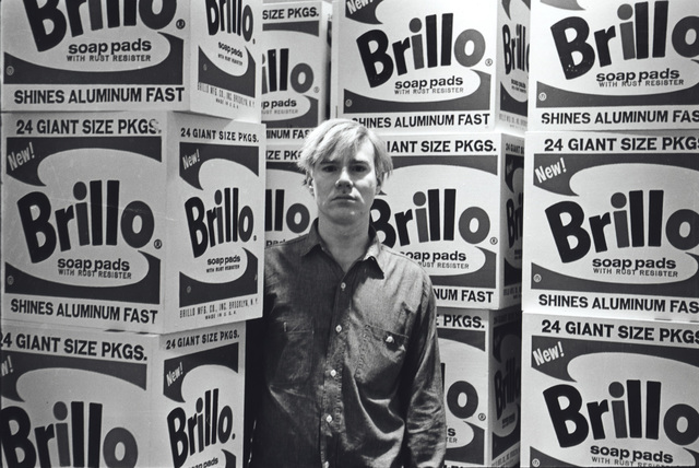 , 'Andy Warhol with Brillo Boxes, Stable Gallery,' 1964, Parrish Art Museum