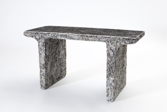 , 'Prototype 'Shredded' side table,' 2012, Sebastian + Barquet