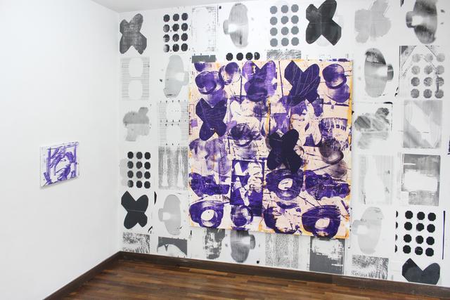 Linhan Yu, 'Desinfektionsmittel 4', 2019, Mixed Media, Mixed Media on Canvas, Migrant Bird Space