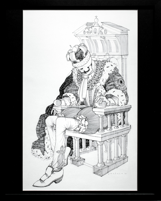 , 'Dead King 3 [18th Century Danish Lord],' 2018, Paradigm Gallery + Studio