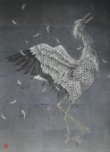 , 'Crying Crane,' 2018, SEIZAN Gallery