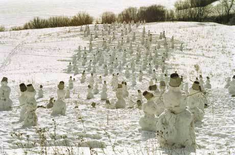 Nikolay Polissky, 'Snowmen ', 2000, Galerie Lilja Zakirova