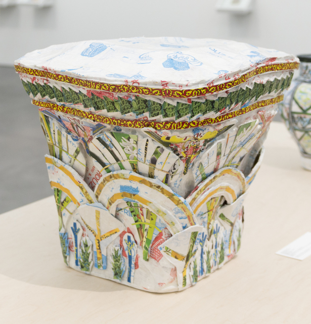 Michael Rakowitz, 'May The Obdurate Foe Not Be In Good Health: White limestone Corinthian capital with two rows of acanthi leaves, Harem, Byzantine period (5th - 6th centuries AD)', 2017, Rhona Hoffman Gallery