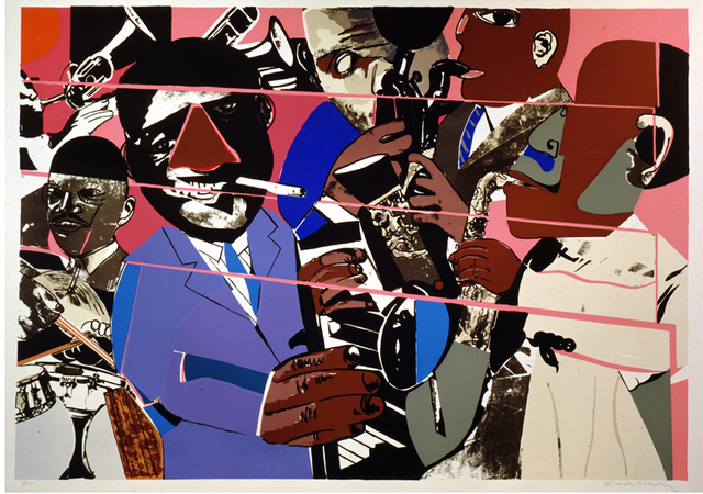 Romare Bearden, 'Jazz II Deluxe,' 1980, ACA Galleries
