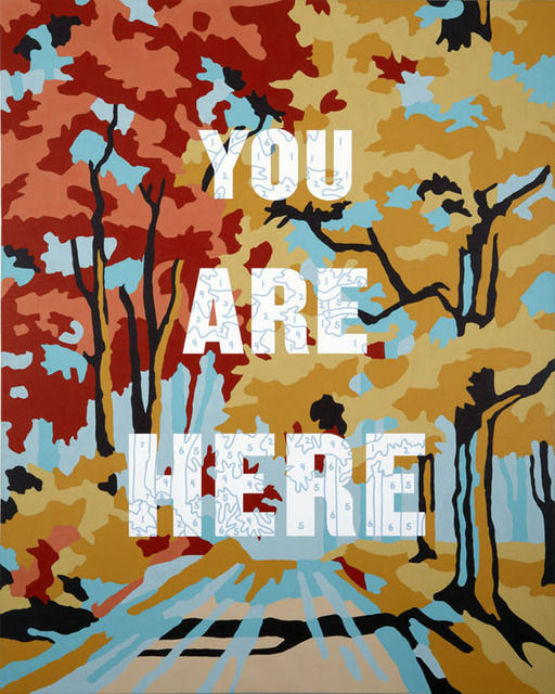 Trey Speegle, 'You Are Here', 2011, Posters, Offset lithograph, Gallery 52
