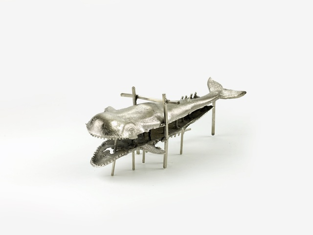 , 'Whale Under Construction,' 2012, Rossi & Rossi