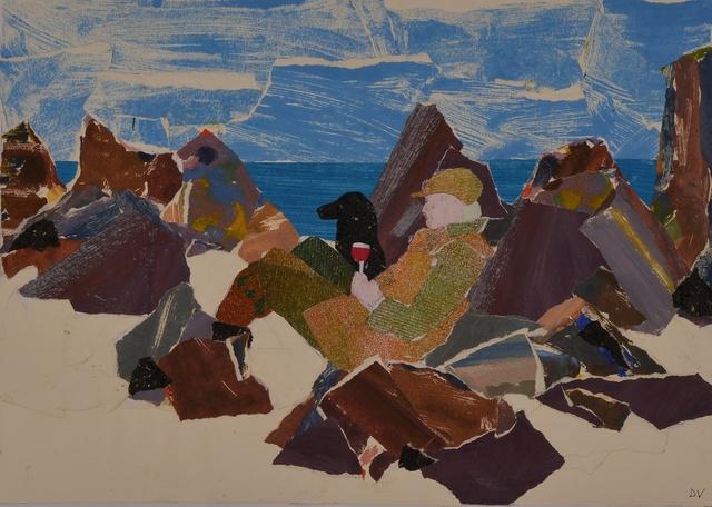 , 'Picnic on Iona,' 2014, Rebecca Hossack Art Gallery
