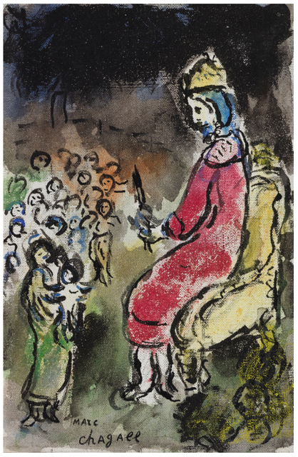 Marc Chagall, 'Le Roi David', 1979, Jerome Zodo Gallery