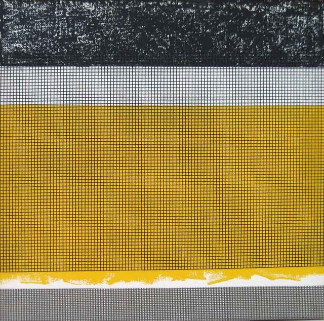, 'Yellow Square 2,' 2015, InLiquid