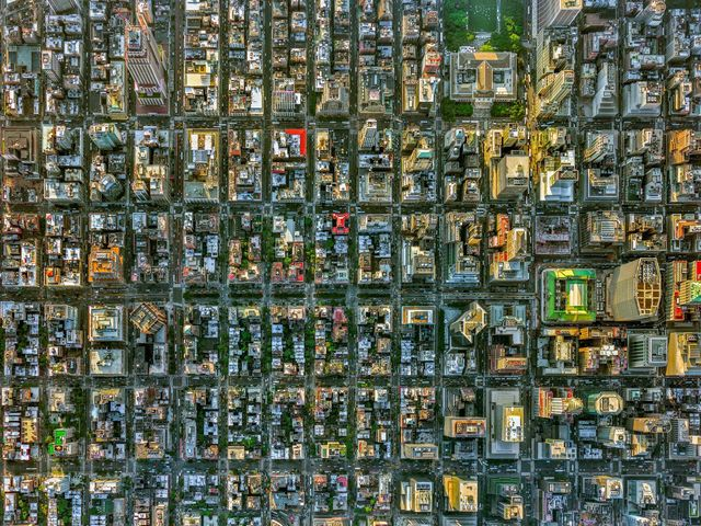 , 'NYC Park Avenue - NY Aerials,' 2016, ARTITLEDcontemporary
