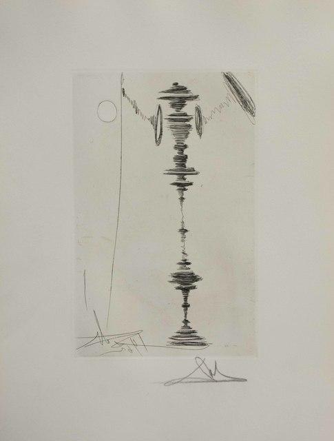Salvador Dalí, 'Deux Fatraises (Spinning Man)', 1968, The Munn Collection