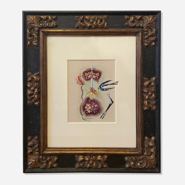 Salvador Dalí, 'Ace of Swords', 1971, Painting, Gouache on photograph, Artsy x Rago/Wright