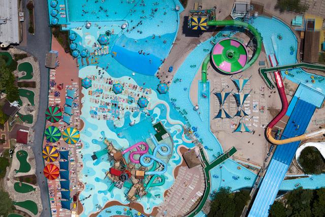 Alex Maclean, 'OCEAN CITY AMUSEMENT PARK, OCEAN CITY, MARYLAND, USA, 2011', 2011, Photography, Digital C-Type, Huxley-Parlour