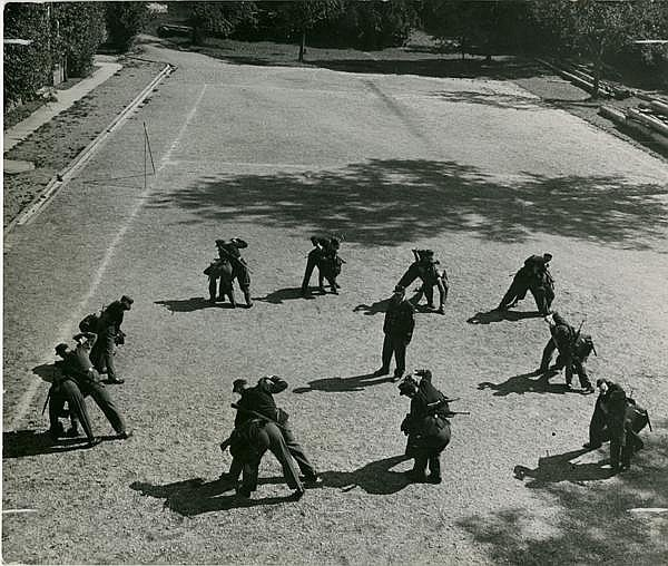 David Seymour, 'Police School in Germany, 1948', 1948, Be-hold