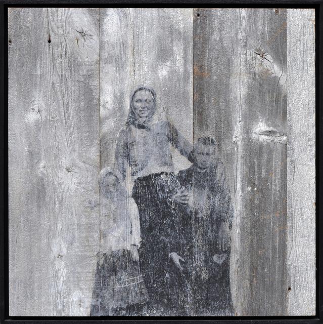 , 'Unframed, Arriving on Ellis Island #5, U.S.A., 2014,' 2014, Lazinc