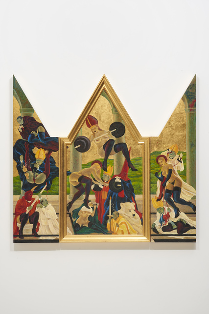 , 'The Cloisters/Arezzo Converters,' 2015, Catharine Clark Gallery